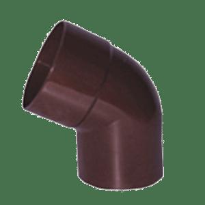 Колено 60° Profil 75 мм коричневое