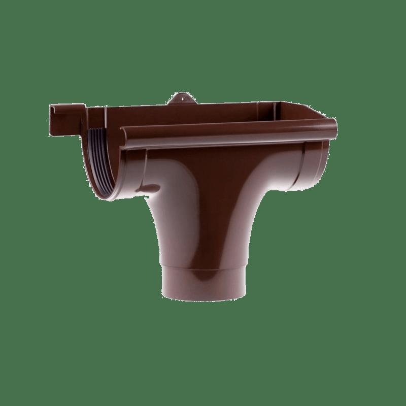 Воронка правая/левая Profil 90 мм коричневая