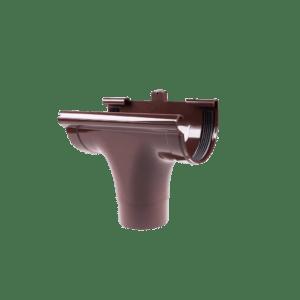 Воронка проходная Profil 90 мм коричневая