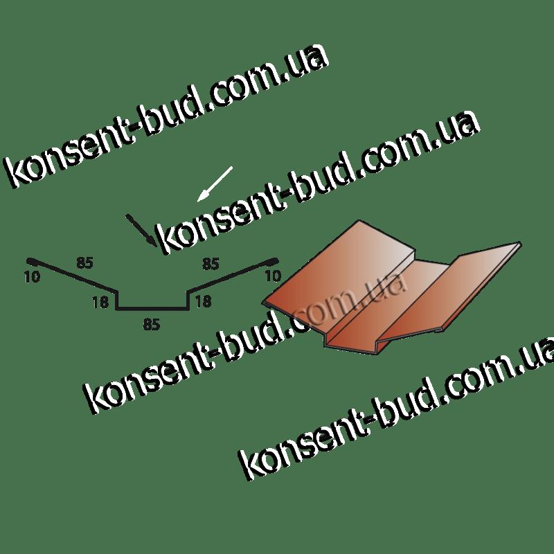 ПВС-1 Планка внутреннего стыка (2м. пог.)