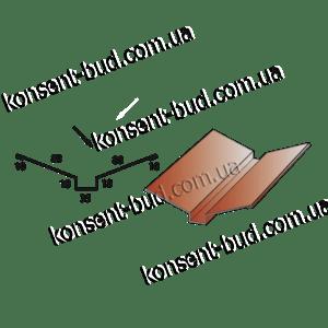 ПВС-2 Планка внутреннего стыка (2м. пог.)