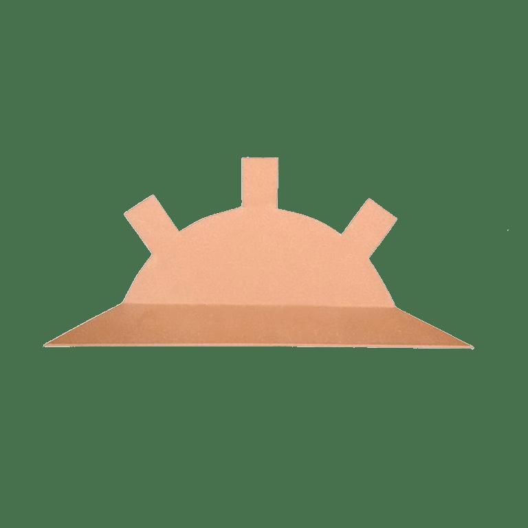 Заглушка на круглый конек (обычная)