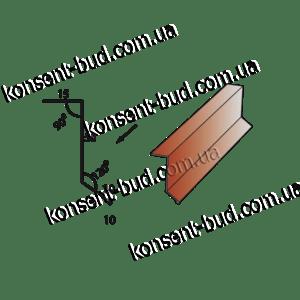 ПБЧ-1 Примыкание под битумную черепицу (2м. пог.)