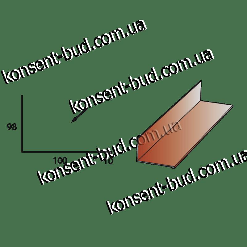 ПБЧ-2 Примыкание под битумную черепицу (2м. пог.)