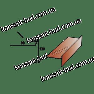 ТБЧ-2 Торцевая под битумную черепицу (2м. пог.)