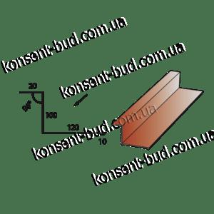 ПБЧ-3 Примыкание под битумную черепицу (2м. пог.)
