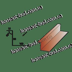 ПБЧ-4 Примыкание под битумную черепицу (2м. пог.)