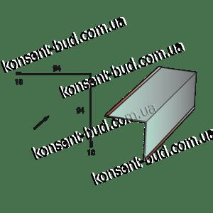 ПВУ Планка внутреннего угла (2м. пог.)