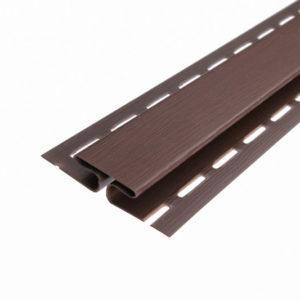 Планка H коричневая ASKO 3,8 м